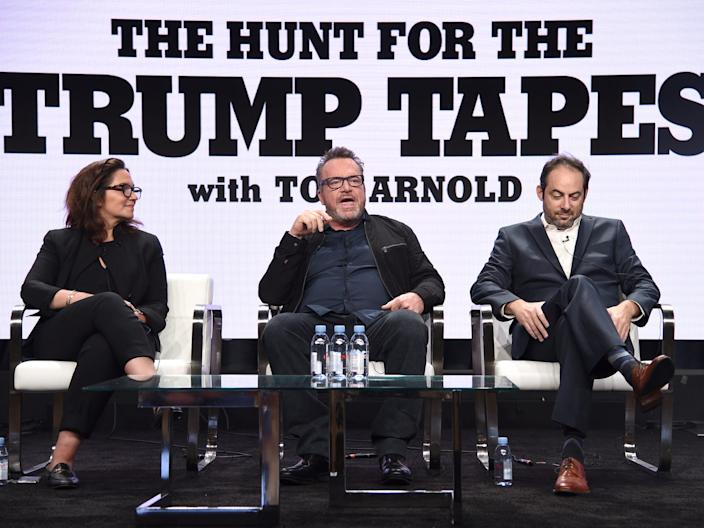Tom Holland The Hunt for the Trump Tapes