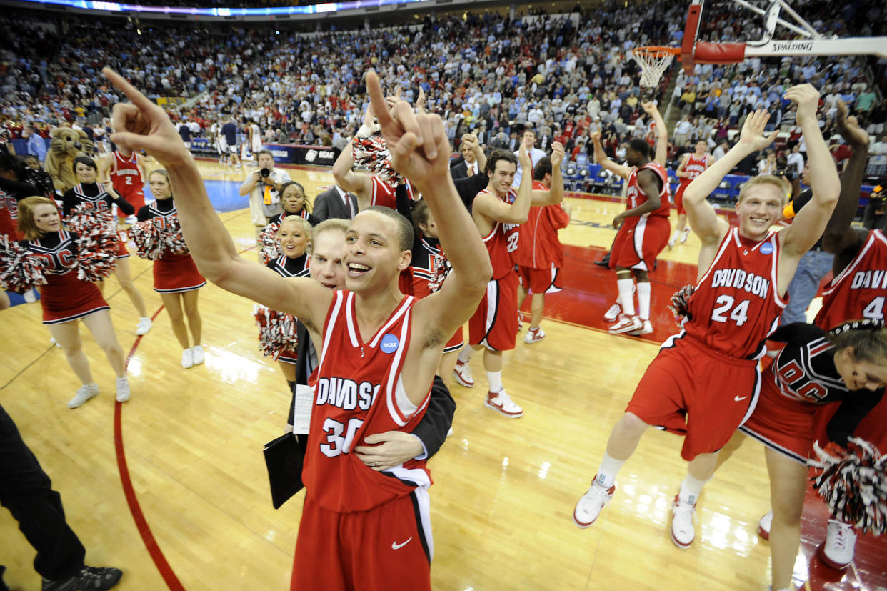 Davidson's Stephen Curry in 2008