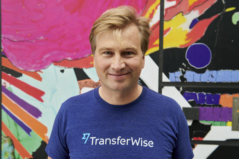 TransferWise founder and chief executive Kristo Kaarmann. Photo: TransferWise