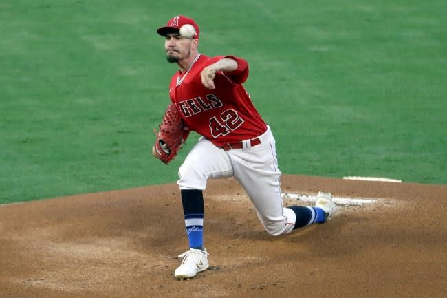 Upton, Heaney lead Angels to 3-2 victory over Mariners