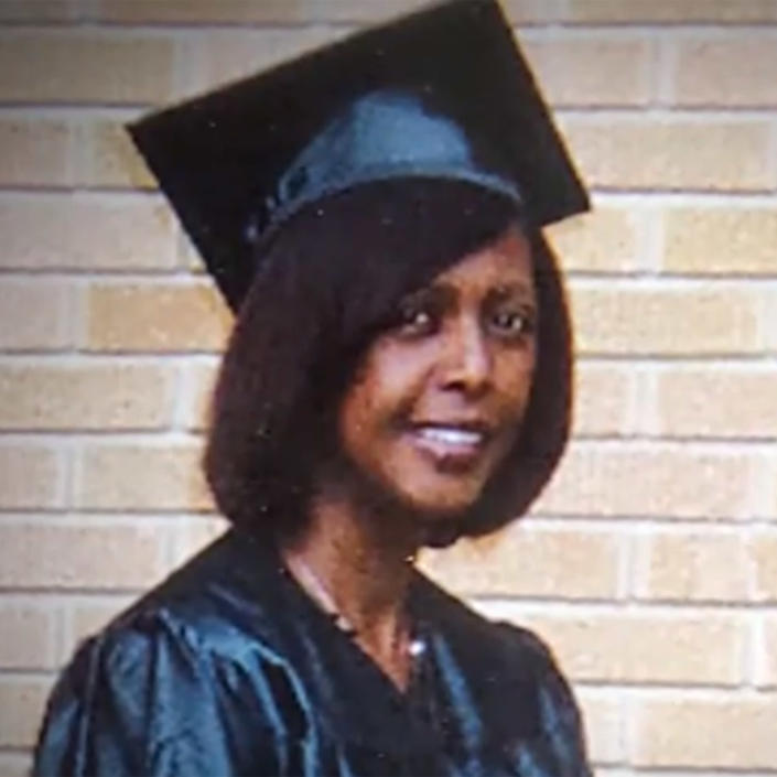 Texas elementary school teacher Wanda Smith graduated from Sam Houston State University in 2010 after persevering through college while working two jobs and raising her family.  (TODAY)