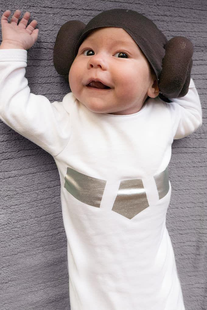 """<p>There isn't anything much cuter than a wee one in this Princess Leia wig—and best of all, it doesn't require a bit of sewing! Quickly finish off the look with a few pieces of silver vinyl ironed on to a white onesie and you've a costume even Obi-Wan himself would love.</p><p><strong>Get the tutorial at <a href=""""https://www.triedandtrueblog.com/star-wars-princess-leia-halloween-baby-wig/"""" rel=""""nofollow noopener"""" target=""""_blank"""" data-ylk=""""slk:Tried and True Creative"""" class=""""link rapid-noclick-resp"""">Tried and True Creative</a>.</strong></p><p><a class=""""link rapid-noclick-resp"""" href=""""https://go.redirectingat.com?id=74968X1596630&url=https%3A%2F%2Fwww.walmart.com%2Fip%2FBlank-Long-Cuff-Beanie-Brown%2F232713304&sref=https%3A%2F%2Fwww.countryliving.com%2Fdiy-crafts%2Fg23785711%2Flast-minute-halloween-costumes%2F"""" rel=""""nofollow noopener"""" target=""""_blank"""" data-ylk=""""slk:SHOP BABY BEANIES"""">SHOP BABY BEANIES</a><br></p>"""