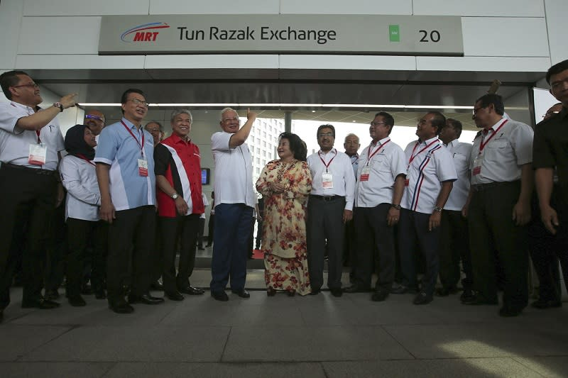 Malaysia's MRT system better than London and New York's, says Najib