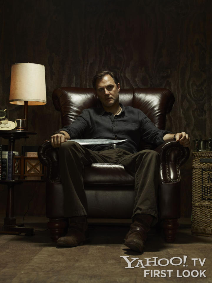 "Governor (David Morrissey) in ""The Walking Dead"" Season 3."