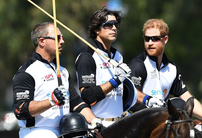 Nacho Figueras and Prince Harry | Tim Rooke/REX/Shutterstock