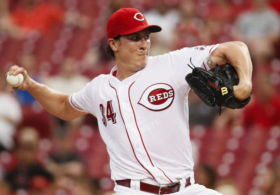 12-year veteran Homer Bailey will start his first opening day for the Reds. (AP)