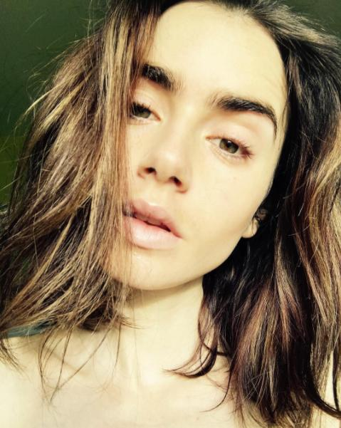 """<p><b>When: Feb. 1, 2017</b><br />Lily Collins recently showed off her natural beauty in a makeup free selfie on Instagram, proving that she doesn't need a tube of lipstick or a slather of foundation to pull-off a glowing complexion. """"Fresh skin, makeup free. Let the evening begin…"""" she captioned. <i>(Photo: Instagram) </i> </p>"""