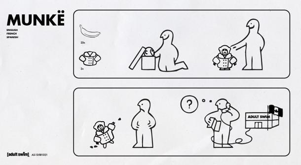Instructions on how to operate your new Ikea Monkey (via Adult Swim)