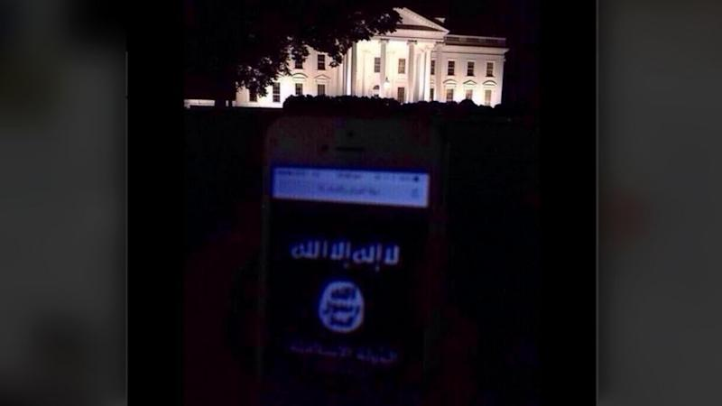 Secret Service 'Aware' of Apparent ISIS Flag Photo in Front of the White House