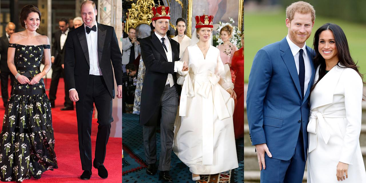 <p>From weddings to engagements and charity runs, a recap of the year's royal moments in photos</p>