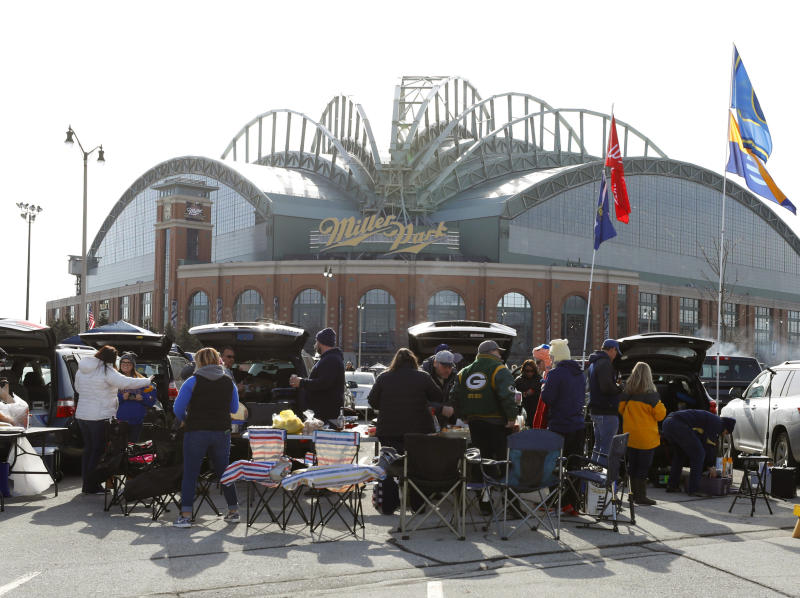 Miller Park rebranding with American Family Insurance