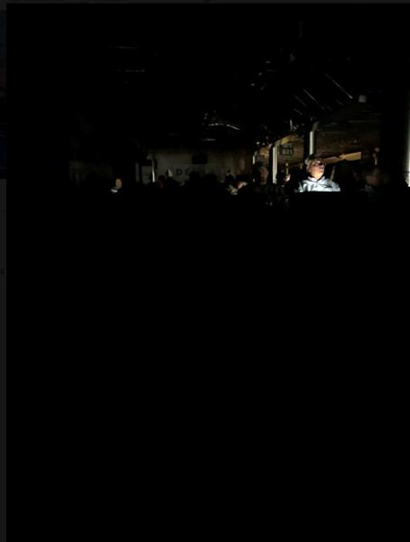 The Atlanta's airport is pictured during the power outage, in Atlanta, U.S., December 17, 2017 in this picture obtained from social media. TWITTER / @NATALIESEITZ/via REUTERS THIS IMAGE HAS BEEN SUPPLIED BY A THIRD PARTY. MANDATORY CREDIT. NO RESALES. NO ARCHIVES