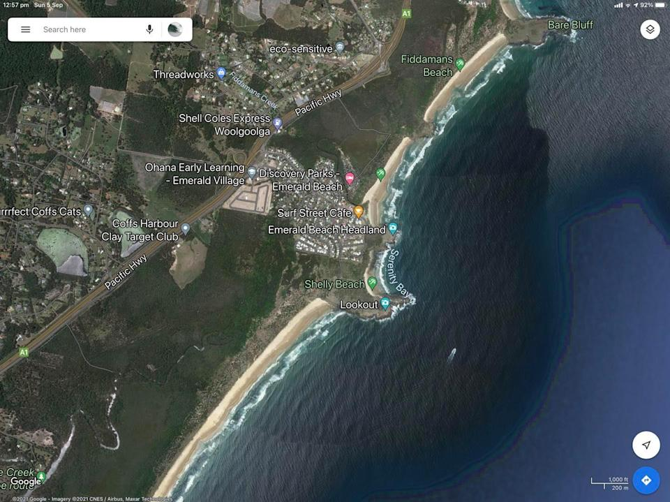 Emerald beach, Shelly Beach and Serenity Bay will be closed to all water activity until further notice. Source: Facebook