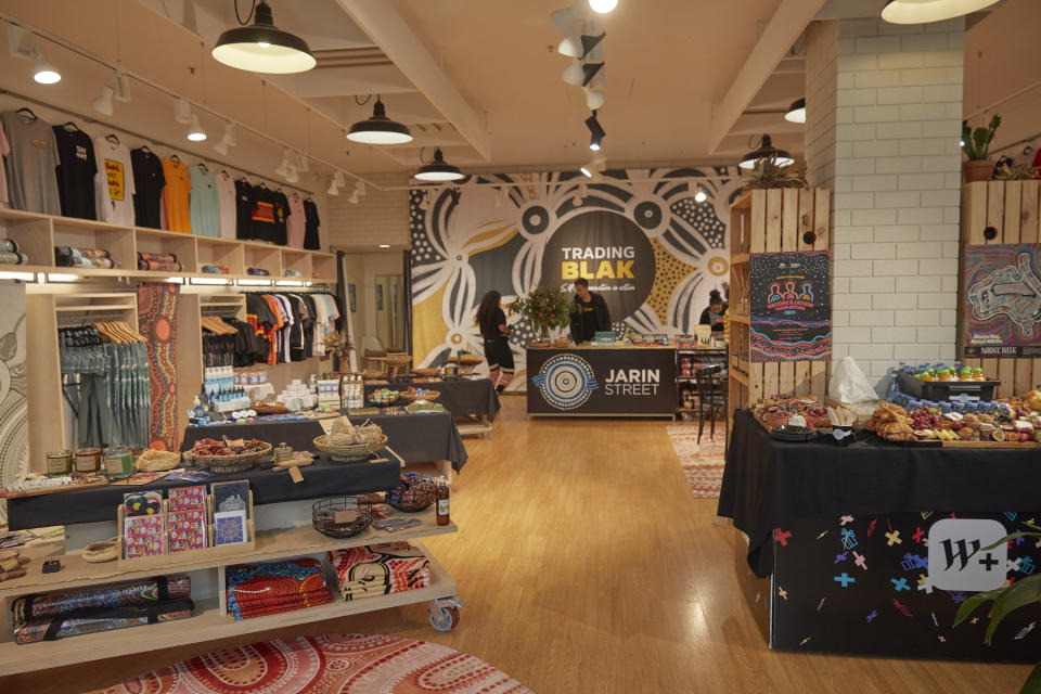 The Trading Blak store in Warringah Mall. (Image: Supplied).