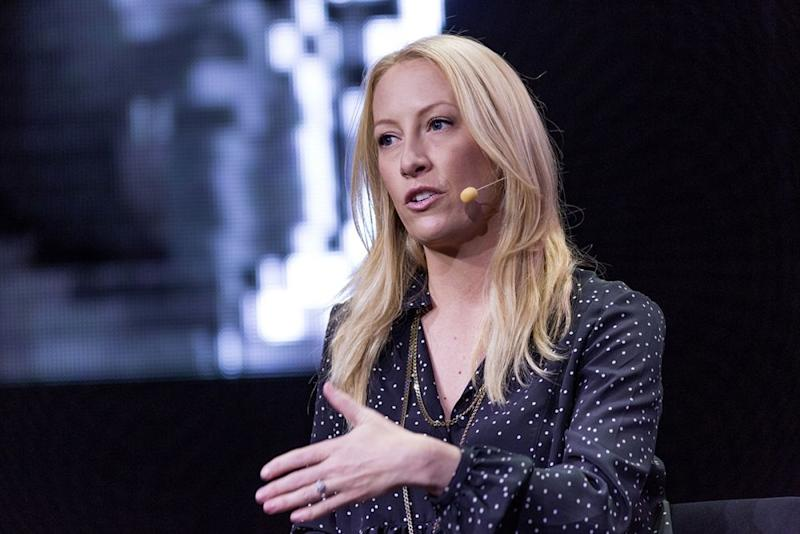 Julia Hartz, cofundadora y CEO de Eventbrite. Imagen: Bloomberg | Getty Images