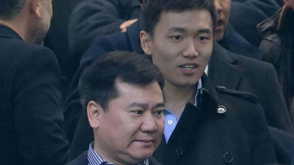 Jindong e Steven Zhang | Emilio Andreoli/Getty Images