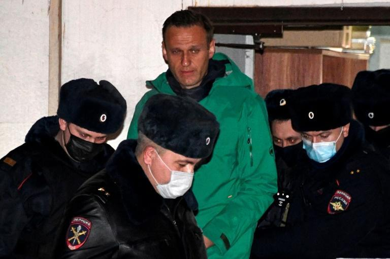 The jailing of Navalny, 44, and the crackdown sparked outrage among many Russians