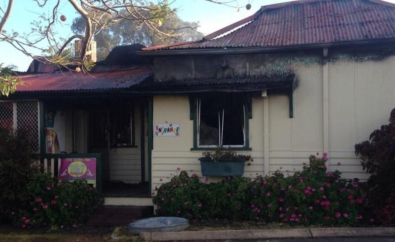 Childcare centre destroyed by fire