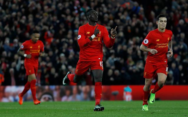 <span>Liverpool's team these days is packed with talent from abroad</span> <span>Credit: Reuters </span>
