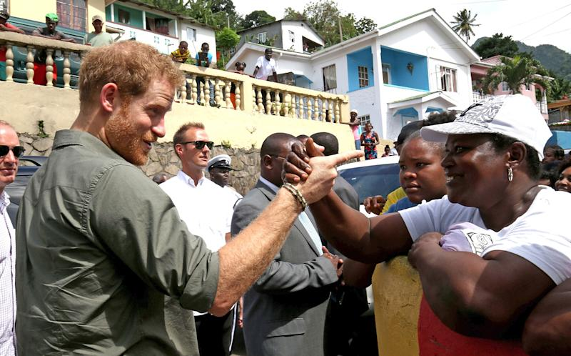 Watch Out, Meghan! Prince Harry Exchanges 'I Love Yous ...