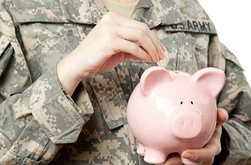Saving for Retirement When You're in the Military