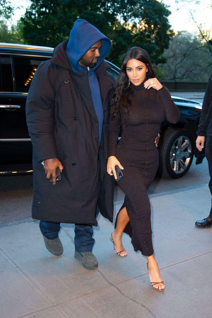 <p>Before attending an event together, the couple wore casual clothes (well as casual as Kardashian tends to go) out and about in New York City.</p>