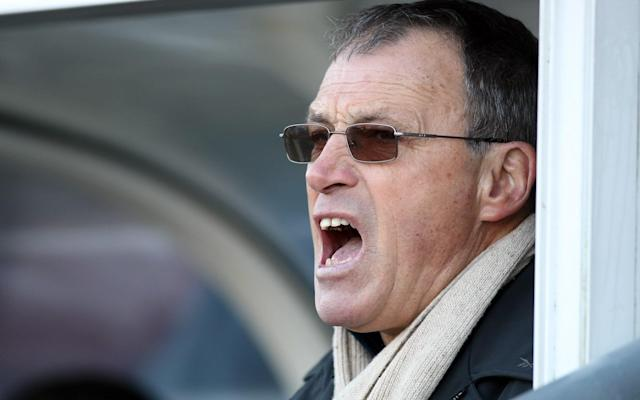 Dario Gradi in the dug out - Getty Images Europe