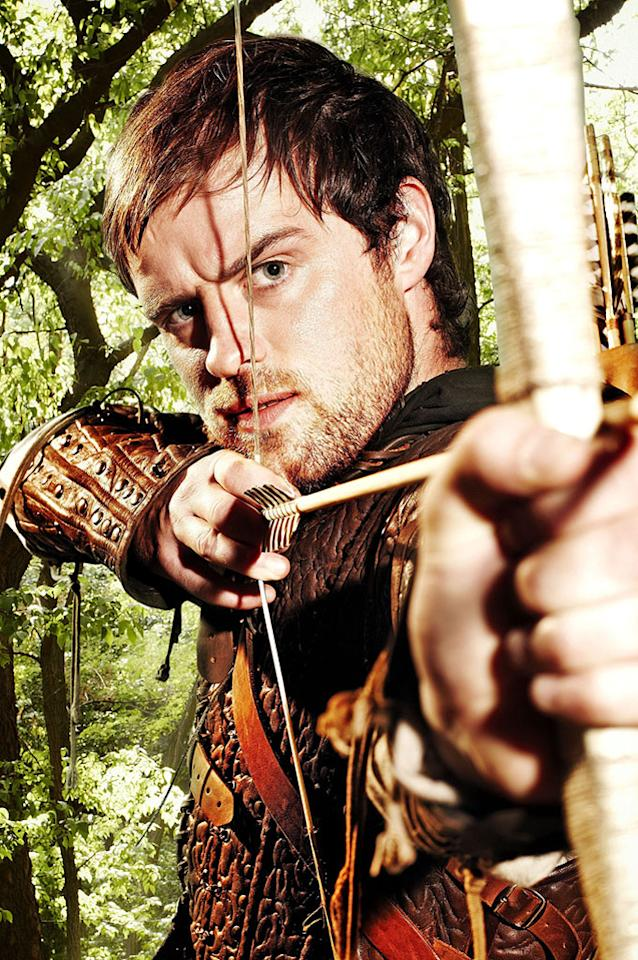 Jonas Armstrong in the BBC series Robin Hood