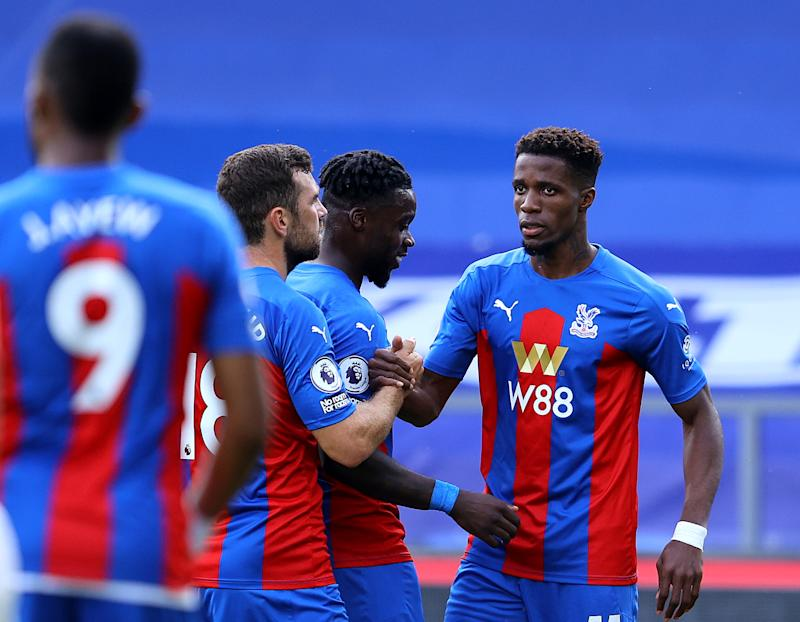Wilfried Zaha scored in Crystal Palace's win over Southampton on the opening dayGetty Images