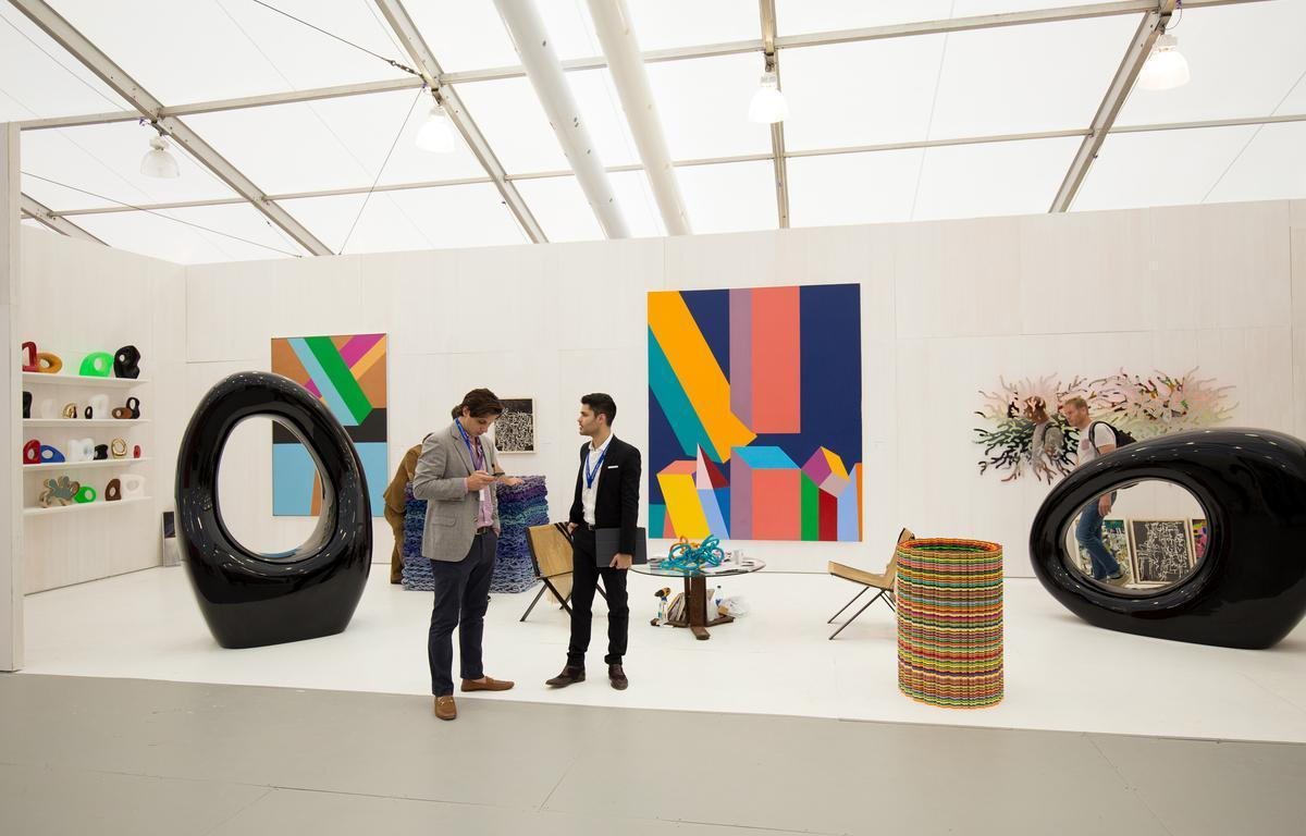 """<p>Art Basel is an international art fair with three shows annually, including one in Miami Beach (<a href=""""https://www.theactivetimes.com/travel/best-honeymoon-spot-north-america-miami-beach?referrer=yahoo&category=beauty_food&include_utm=1&utm_medium=referral&utm_source=yahoo&utm_campaign=feed"""">the top honeymoon destination in America</a>). The fair showcases art from more than 4,000 emerging contemporary artists, attracting a large international audience. Over 200 galleries display artwork including paintings, sculptures, photography, film and digital art. Art Basel also hosts a series of conversations about the global art scene.</p>"""