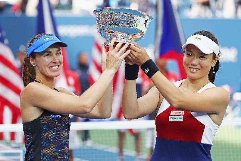 Taiwan's Chan Hao-ching and partner trounced in US Open final