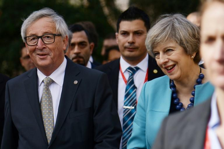 Wednesday's meeting will be the first between May and Juncker since the British leader triggered Article 50 of the EU's Lisbon Treaty, launching two-year divorce proceedings