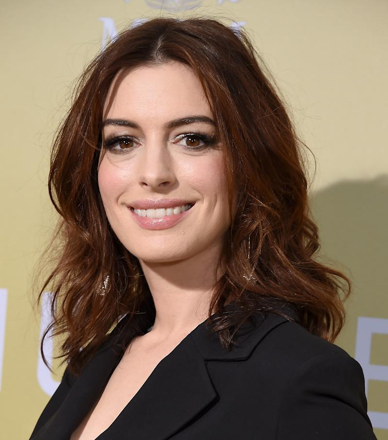 Anne Hathaway spoke candidly about her struggles with fertility. Photo: Getty Images