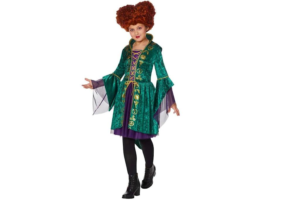 <p>This <span>Tween Winifred Sanderson Dress</span> ($35) features a shorter skirt and purple mesh sleeves perfect for casting spells!</p>