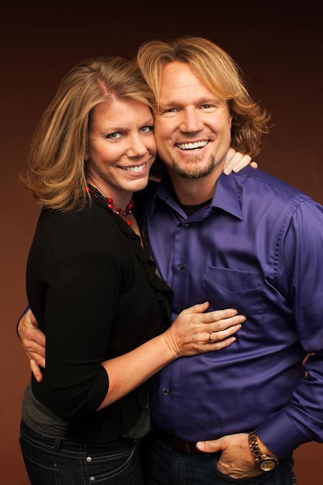 "Meri and Kody in ""Sister Wives."""