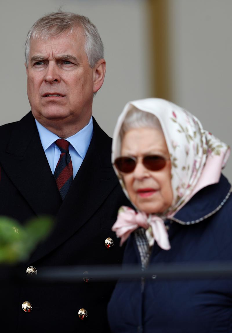Prince Andrew (pictured in May 2018 with his mother, Queen Elizabeth II) is facing new scrutiny over his ties to the late Jeffrey Epstein. (Photo: REUTERS/Peter Nicholls)