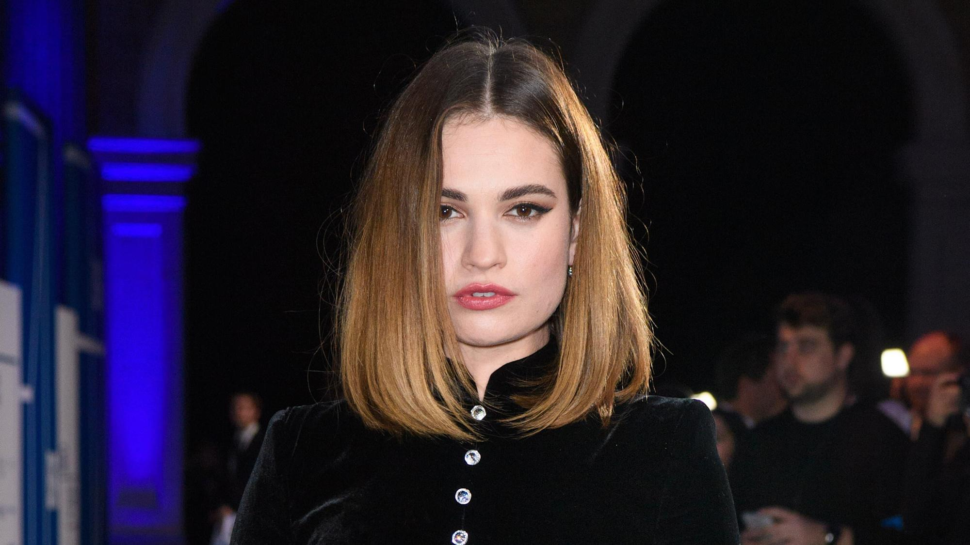 Lily James transforms into Pamela Anderson for new TV series