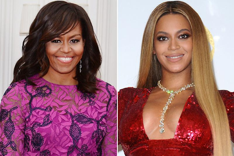 Michelle Obama and Beyoncé Celebrate France's World Cup Victory with a Dance Party in Paris