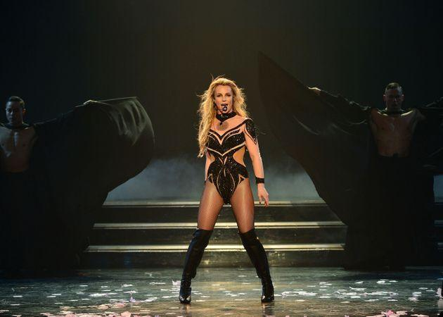 Britney Spears performing at her Las Vegas residency in 2016. (Photo: Denise Truscello/BSLV/Getty Images for Brandcasting Inc.)