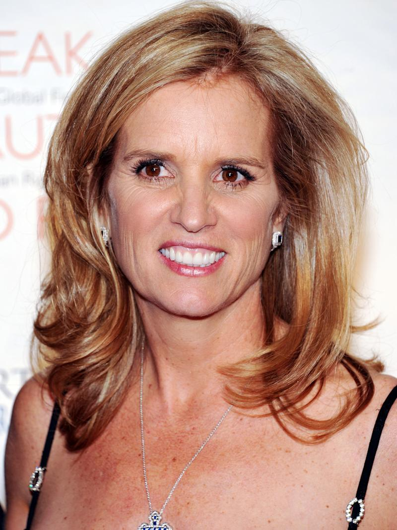 FILE - In this Nov. 17, 2012 file photo, Kerry Kennedy, attends the Robert F. Kennedy Center for Justice and Human Rights 2010 Ripple of Hope Awards Dinner New York.  Police say the former wife of New York Governor Andrew Cuomo, has been arrested on Friday, July 13, 2012, for driving while impaired by drugs after colliding with a tractor-trailer in North Castle, N.Y. (AP Photo/Evan Agostini, File)