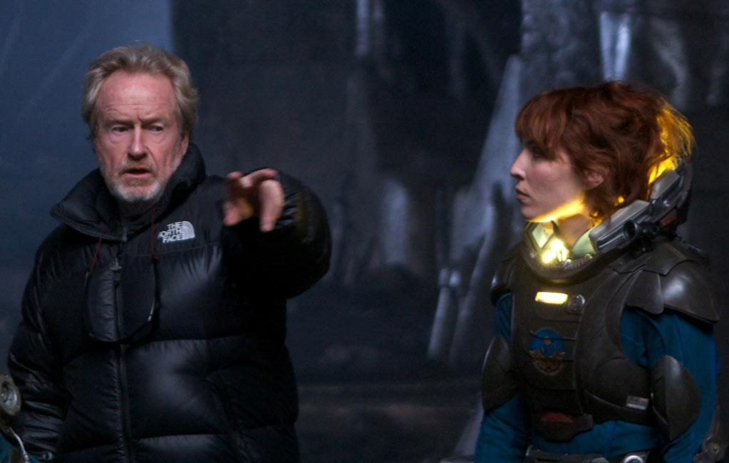 """<b>Good Advice</b><br>Before <a>Noomi Rapace</a> heard of the project, she had a meeting scheduled with Ridley Scott's producer Michael Costigan. Five minutes before the meeting, Rapace found out Scott would be there as well. Nervous sweat started pouring, but Rapace was put at ease when Scott started talking about the three or four times he'd seen her outstanding performance in the original Swedish version of """"The Girl with the Dragon Tattoo"""" (2009). Scott <a>told her then</a> that he wanted to work with the actress, but only after he helped light a fire under Rapace to get her to speak better English: """"He said to me, 'If you can work on that, you can do anything, you can do whatever you want. You can be the biggest, if that's your goal. But you have to work on that, and be completely free. Not only working with a dialect coach and doing the lines perfect; because you can't really live them, and you can't improvise.' And I really took it super seriously. The day after I started to read books and newspapers, and I was really concentrated about the accent and getting my head around the language."""" Six or seven weeks later, Scott offered Rapace the part of Elizabeth Shaw. <br>"""
