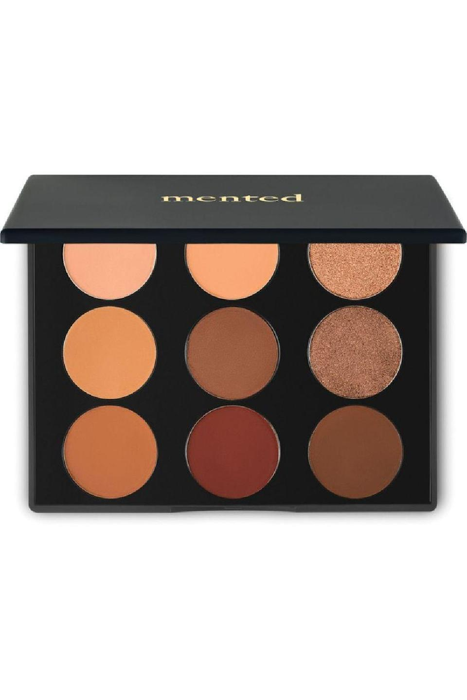 """<p><strong>mented cosmetics</strong></p><p>ulta.com</p><p><strong>$28.00</strong></p><p><a href=""""https://go.redirectingat.com?id=74968X1596630&url=https%3A%2F%2Fwww.ulta.com%2Feveryday-eyeshadow-palette%3FproductId%3Dpimprod2021936&sref=https%3A%2F%2Fwww.cosmopolitan.com%2Fstyle-beauty%2Fbeauty%2Fg36596599%2Fbest-eyeshadow-palettes%2F"""" rel=""""nofollow noopener"""" target=""""_blank"""" data-ylk=""""slk:Shop Now"""" class=""""link rapid-noclick-resp"""">Shop Now</a></p><p>Whether you've got to quickly put together a<a href=""""https://www.cosmopolitan.com/style-beauty/beauty/a32437531/zoom-makeup-how-to-look-good/"""" rel=""""nofollow noopener"""" target=""""_blank"""" data-ylk=""""slk:makeup look for a Zoom meeting"""" class=""""link rapid-noclick-resp""""> makeup look for a Zoom meeting</a> or just want to add a little somethin' somethin' to your everyday face for happy hour, reach for this classic color collection full of neutral browns. It's <strong>small enough to take with you on the go</strong>, and each of the shades can be built up or toned down to suit your vibe.</p>"""
