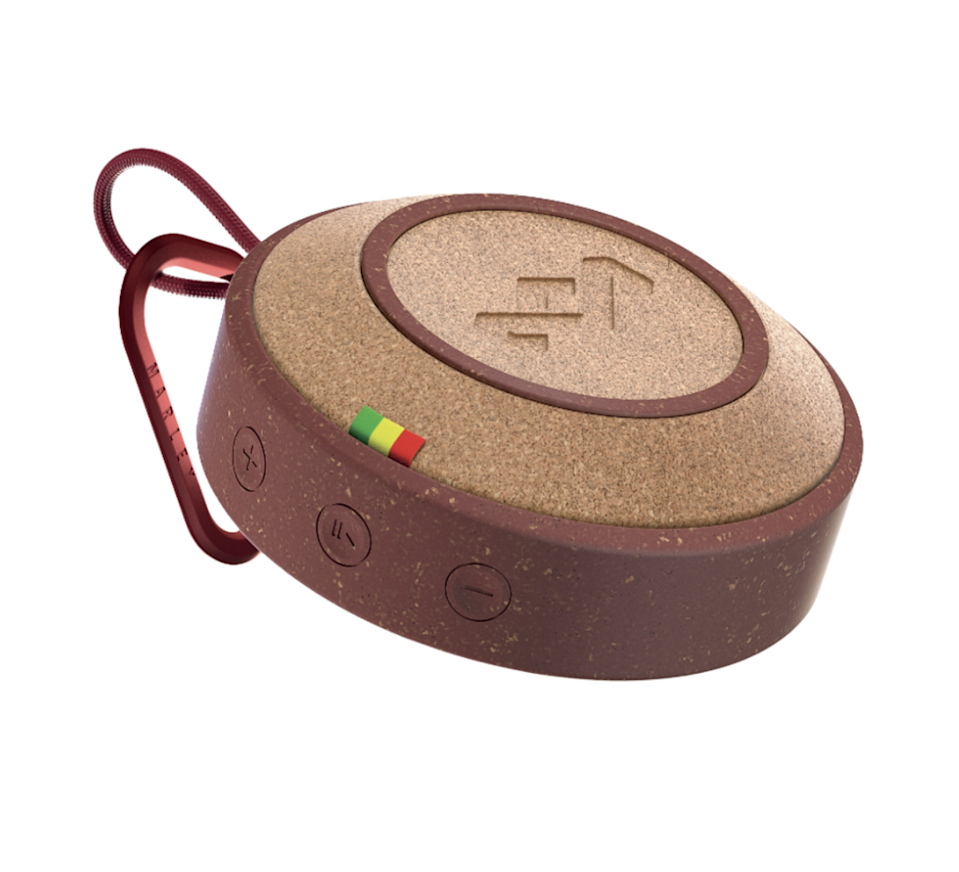 """$60, House of Marley. <a href=""""https://www.thehouseofmarley.com/speakers/no-bounds-bluetooth-speaker.html"""" rel=""""nofollow noopener"""" target=""""_blank"""" data-ylk=""""slk:Get it now!"""" class=""""link rapid-noclick-resp"""">Get it now!</a>"""