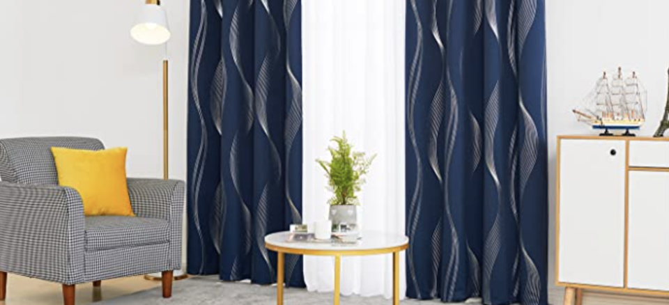 These curtains add an elegant touch to any room. (Photo: Amazon)