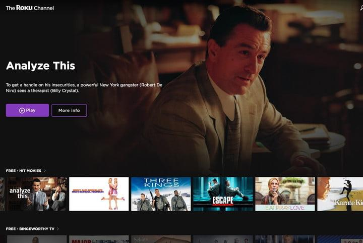 Roku Channel free movies