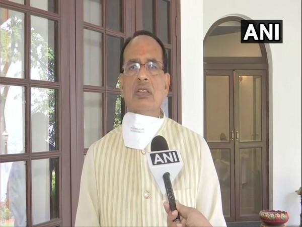 Madhya Pradesh Chief Minister Shivraj Singh Chouhan speaking to ANI in Bhopal on Thursday. (Photo/ANI)