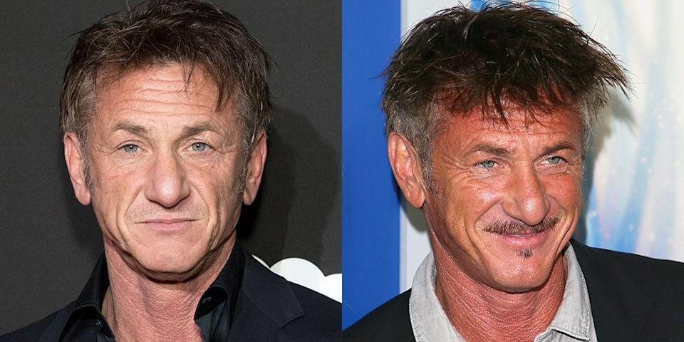 <p>Sean Penn is normally pretty stoic on the red carpet, and time and time again brings the same pensive stare. But the actor steals the show when he whips out a grin. </p>