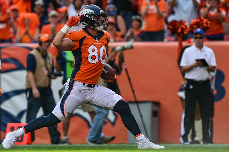 After suffering yet another ACL tear, Denver Broncos tight end Jake Butt is ready to earn his spot back this fall.