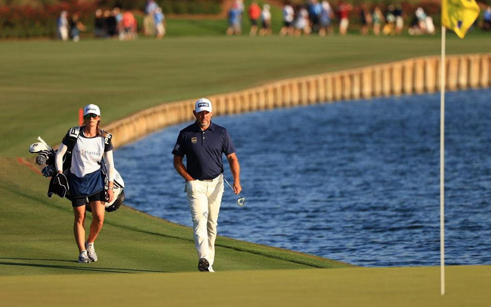 Storey won't be on the bag for the Masters but will still be involved - GETTY IMAGES