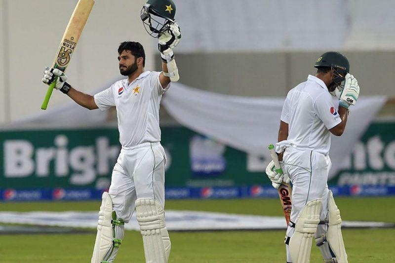 Azhar Ali after his triple century. The second ever Day-Night Test was staged at Dubai in the United Arab Emirates in 2016 when the Caribbean team clashed with Pakistan in a Test series. Both of Pakistan and West Indies were playing their maiden Test match under the lights.The game started with Pakistan racking up a mammoth total of 579/3. However, the innings belonged to Azhar Ali as he went on to become the first centurion in Day-Night Tests. He carried forward his knock and scored his maiden triple hundred in Test cricket.West Indies lacked bite in their bowling as Azhar milked them throughout with sheer ease during his 469-ball knock. As soon as he reached the milestone, Misbah-ul-Haq, the former Pakistan skipper/batsman decided to declare.
